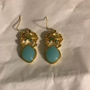 Lilly Pulitzer crab earrings